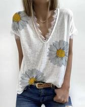White Short Sleeve Shirts & Tops