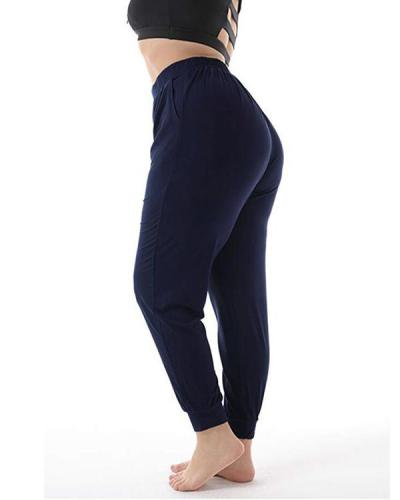 Casual Plus Size Loose Sport Jogger Pants
