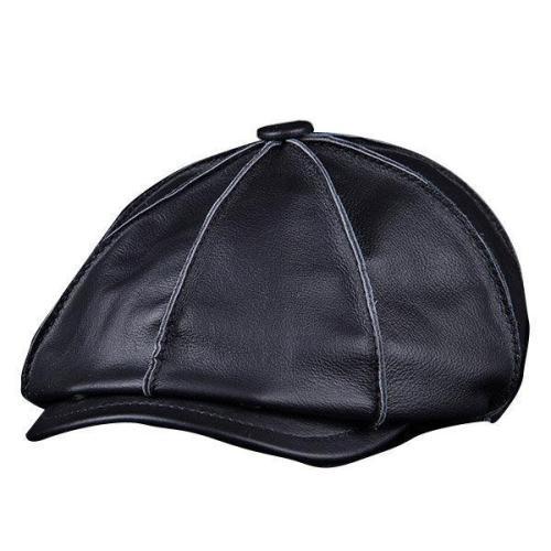 Yesloo Warm Octagonal Cap Vintage Newsboy Cap Golf Driving Hat