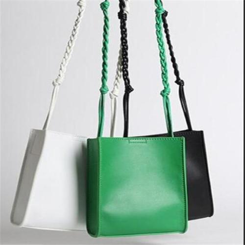Women's leather  Stylish Drawstring Bag