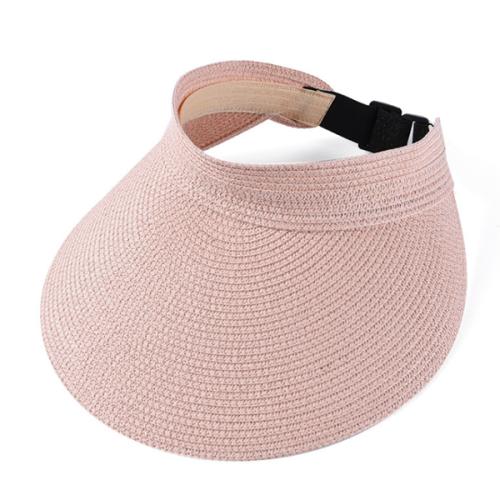 Women's Handmade Straw Summer Casual Shade  Beach Hat