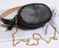 Women Snake Pattern Waist Bag Casual Bag Canteen Bag