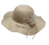Women's Foldable Long Brim Sun Beach Sun Hat Outdoor Summer Breathable Travel Straw Hat