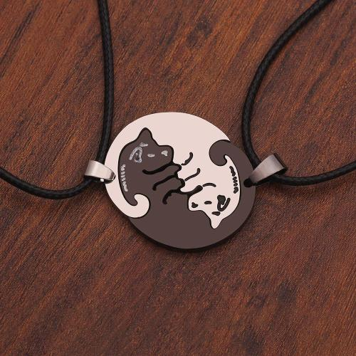 Cute Dog Couple's Necklaces