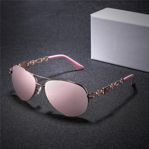 Lady Elegant Fashion Eyes Protector Sunglasses Eyewear With Box