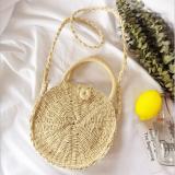 Fashion Chic Round Straw Crossbody Bags