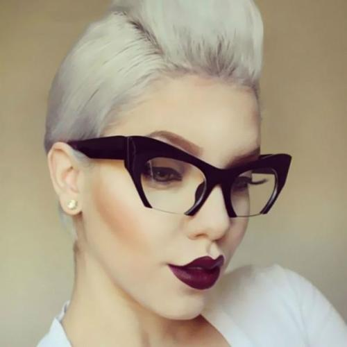 Sunglasses - Fashion Semi-Rimless Glasses