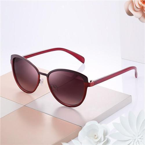 Lady Sunglasses UV400 Protection Oversized Traveling Driving Eyewear With Box