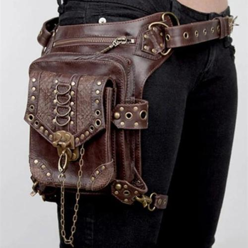 Women's Retro Punk Crossbody Bag