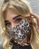 Metal Jewelry Face Mask