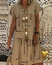 Irregular Short Sleeve Women Plus Size Mini Dress