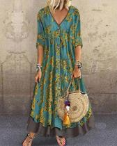 Women's Plus Size Maxi A Line Dress