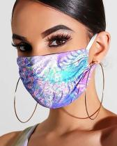 Floral Print Breathable Mouth Mask