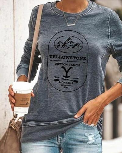 Women Stylish Blouse Women Daily Fashion Round Neck Tops