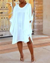 Loose Shirt Cloth Cuff Dress