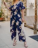 Plus Size Women's Summer One-piece Jumpsuit