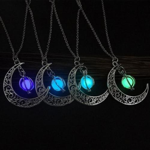 Hottest Luminous Alloy With Moon Necklaces