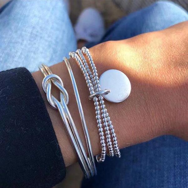 Unique Exquisite Stylish Alloy Jewelry Sets Bracelets Beach Jewelry