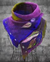 Women's Vintage Casual Multicolor Scarves & Shawls
