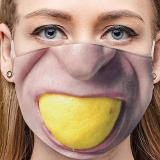 Face Expression Breathable Cotton Face Mask