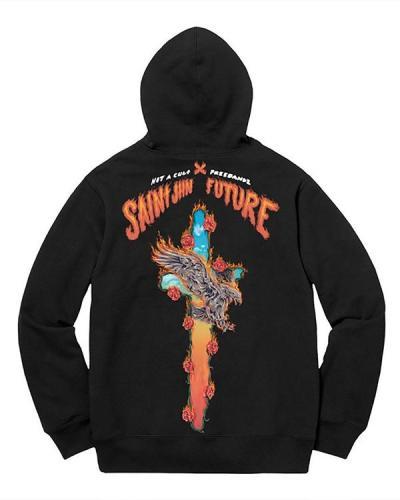 Plus Size Trendy Printing Pullover Hoodies