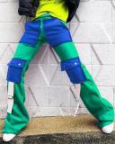 Fashion Multi-pocket Pants