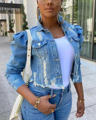 Short Jacket Women's Trend Plus Size Denim Jacket