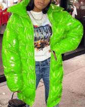 Fashion Casual Solid Cardigan Turndown Collar Outerwear