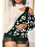 Casual Wear Mandarin Collar Sweater