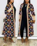 Leopard Printed Jacket Cardigan Coat
