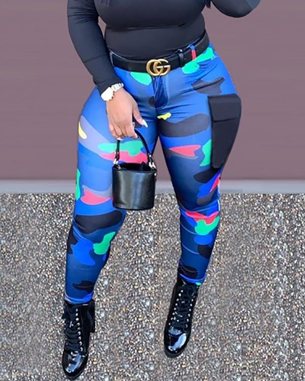 Casual Printed Trousers Pants