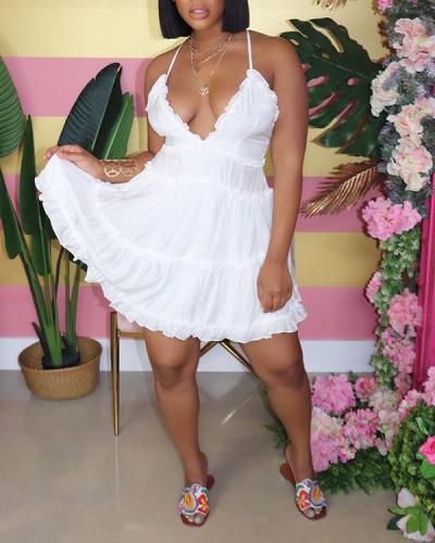 Sexy Sleeveless Short Dress