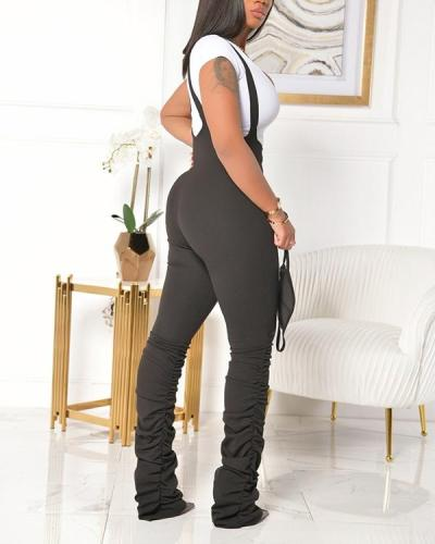 Sling Long Jumpsuit Pants
