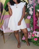 Loose Cotton Sleeveless Dress