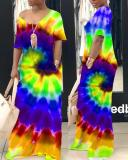 Spin Tie-dye Maxi Dress