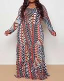 Loose Plus Size Maxi Dress