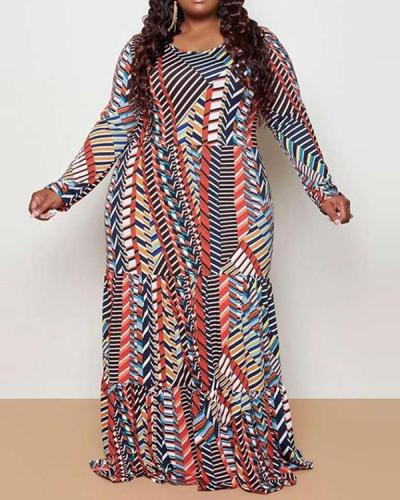 Loose Plus Size Maxi Dress