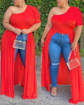 Sexy Tube Top Fashion Irregular Top Dress