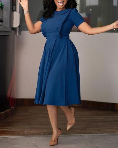 Short Sleeve Tight Dress