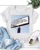Love Quote on Billboard Casual T-shirt