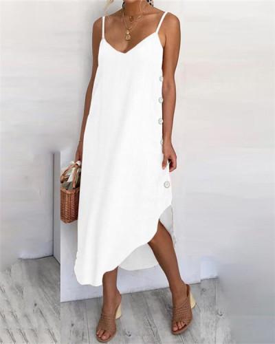 Fashion sexy suspender dress