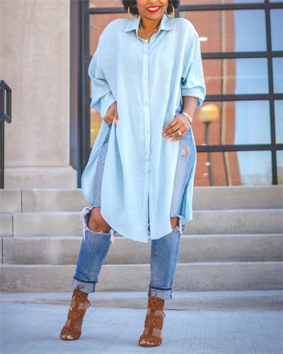 Side Slit Tunic Shirt