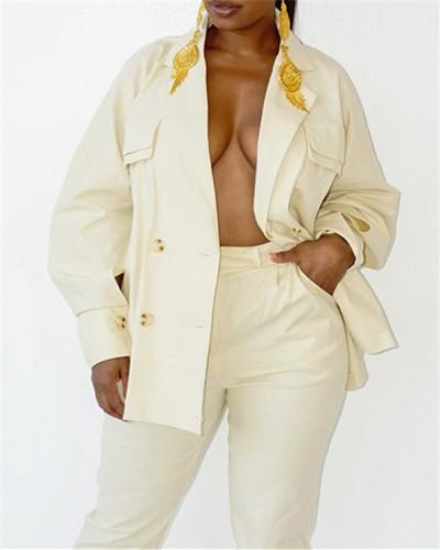 Color fashion casual lady suit