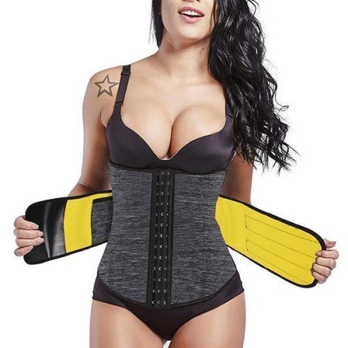 NEOPRENE PRESSURIZED WAIST TRAINER WITH POCKET