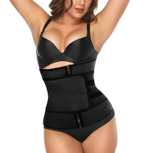 ELASTIC COMPRESSION CINCHER BELT WAIST TRAINER