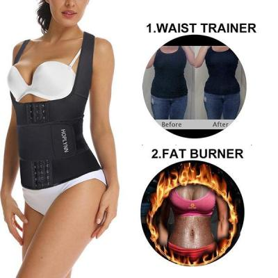 SPORTS VEST SHAPER BREASTED SINGLE WAIST BELT