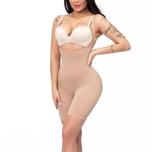 FIRM CONTROL OPEN-BUST BODYSUIT(SUPER COMFORTABLE)