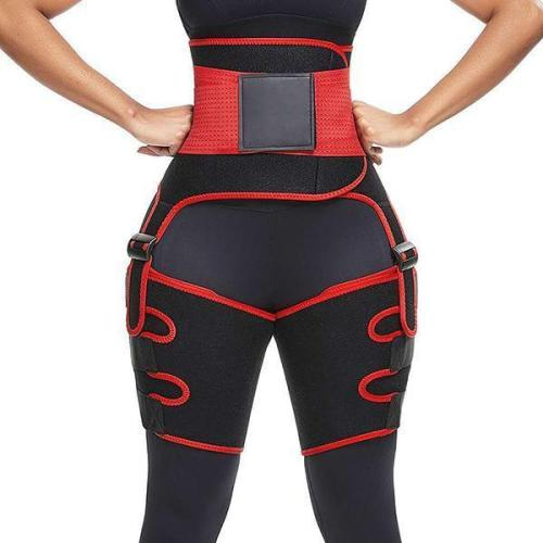 HIGH WAIST SWEAT LEG BELT SPORTS PANTIES