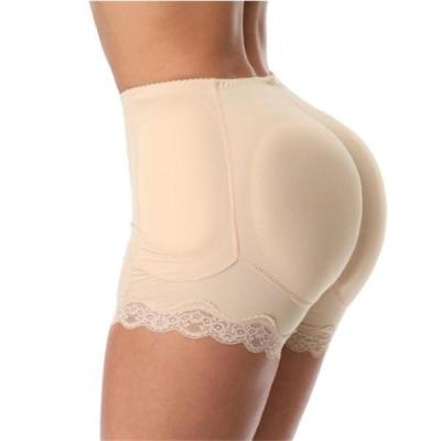 6XL PLUS SIZE BUTT LIFTER LACE-TRIM BUTTOCKS PADDING SHORTS