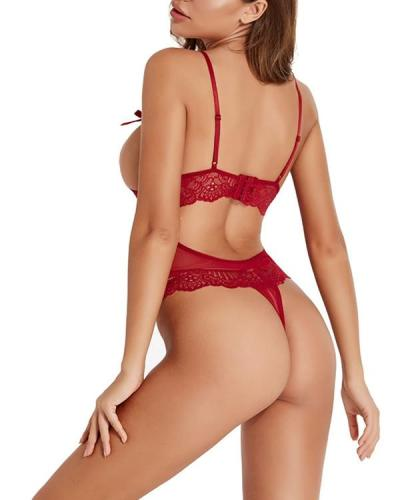 Doubt My Love Lace Teddy Sexy Lingerie